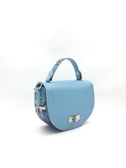 голубая/питон синий