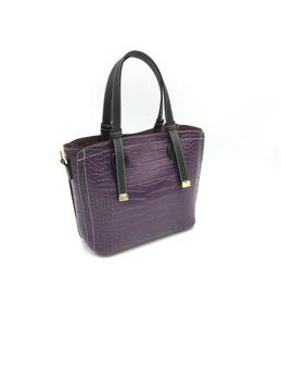кроко фиолетовый/черный